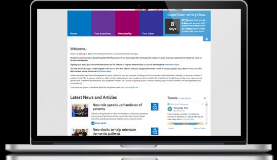 staff portal homepage