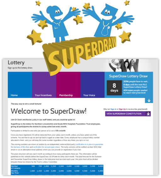 staff portal lottery