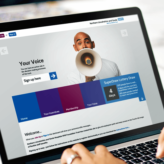 NHS Staff Portal Case Study by Keyzo