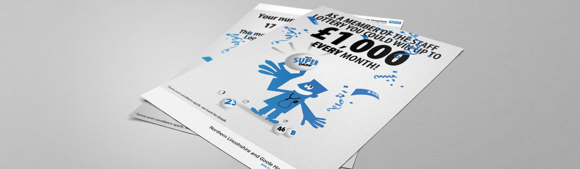 Staff Portal - Superdraw Lottery Flyer Design