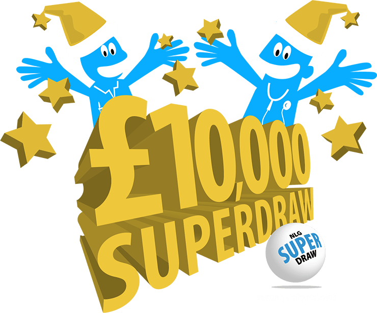 Staff Lottery Superdraw Design