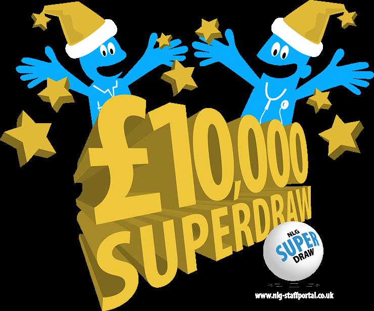 Staff Lottery Superdraw Design