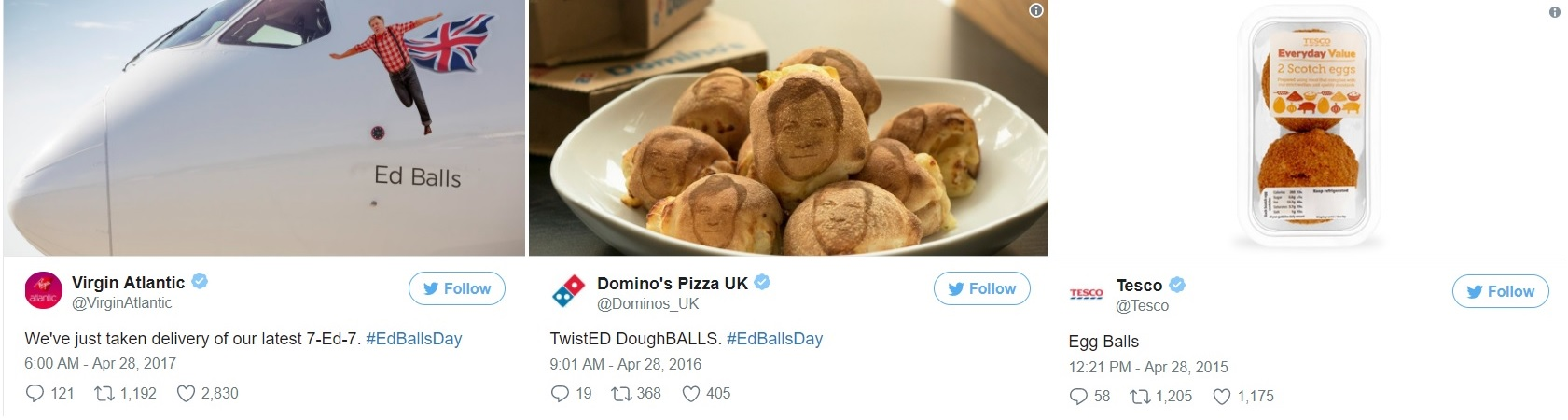 Ed Balls Day Tweets