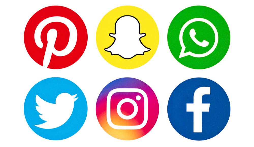 Up to date social media icons can be changed during a website redesign