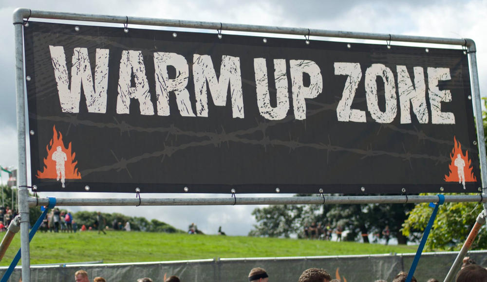 Warm Up Zone