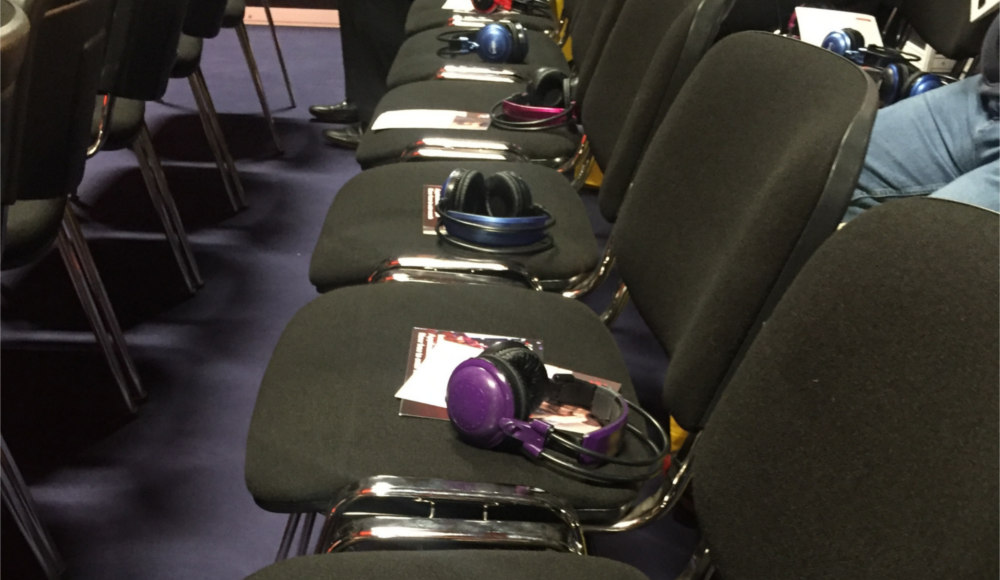 The chairs in the Health & Safety North conference