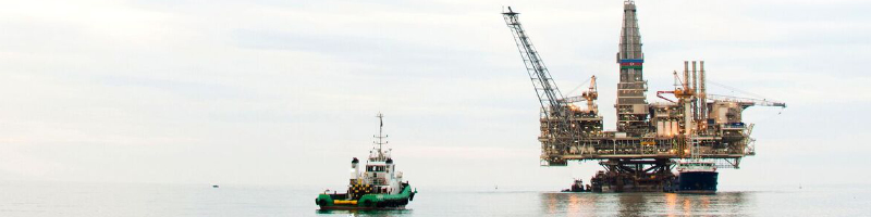 North Sea Rig - Remote Working