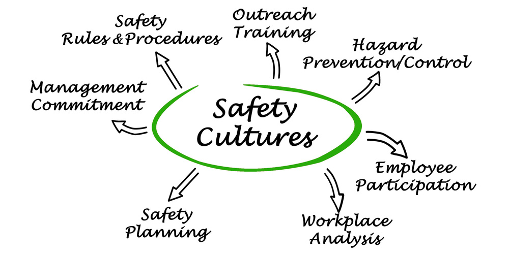 Safety Cultures spider diagram