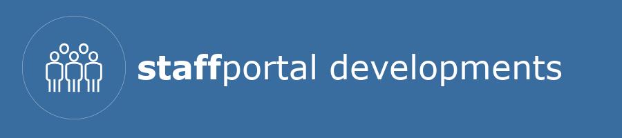 staffportal developments