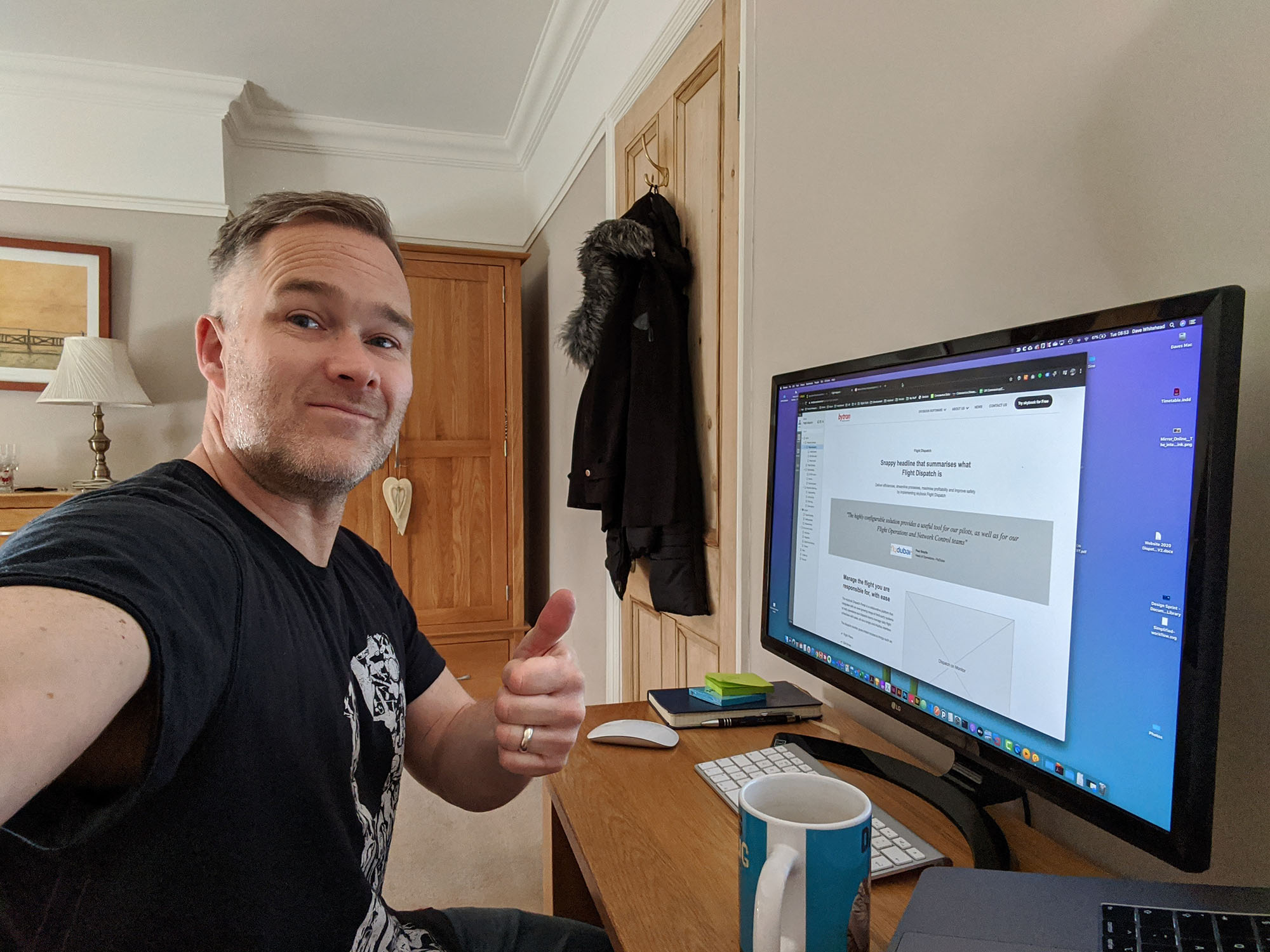 Dave Skybooks UX Designer